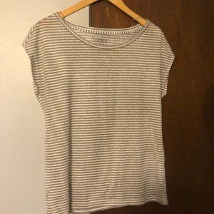 Loft Scoop necked SS T shirt Medium